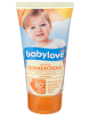 BABYLOVE Krem sensitive do opalania LSF 50+