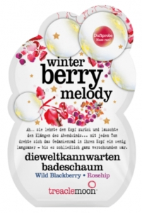 TREACLEMOON Sól do kąpieli  Winter berry melody