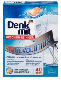 DENK MIT tabletki do zmywarek multi-power revolution