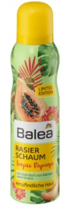 BALEA Pianka do golenia Tropic Papaya