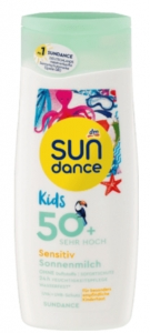 SUN DANCE  Mleczko Kids  Sensitive do opalania LSF 50