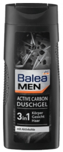BALEA MEN Żel pod prysznic Active Carbon