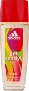 Adidas Get Ready dezodorant natural spray