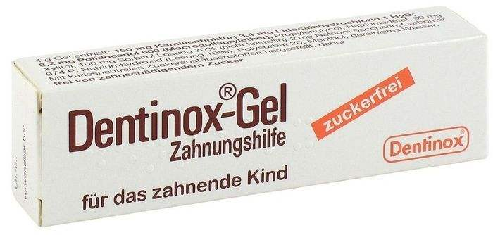 dentinox gel na z bkowanie drogeria niemiecka. Black Bedroom Furniture Sets. Home Design Ideas