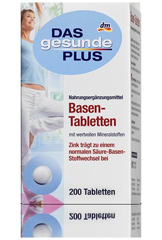 DAS GESUNDE PLUS Tabletki przywracające równowagę zasadową